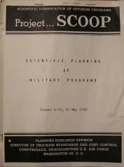 Gass SCOOP 4 Scientific Planning 01